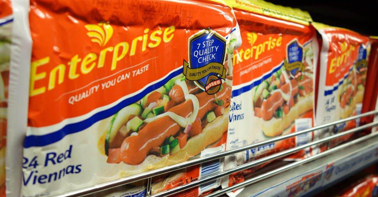Enterprise Foods Red Viennas